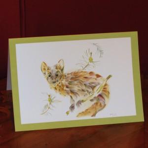 Vincent Wildlife Trust Pine Marten Card